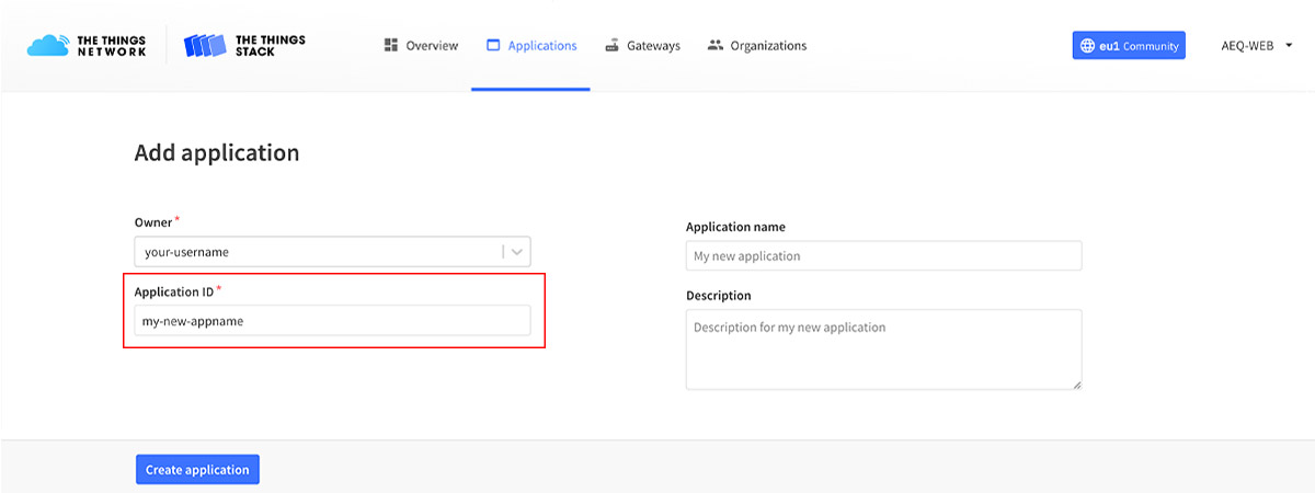 ESP32 Arduino TTS Register OTTA Add Application