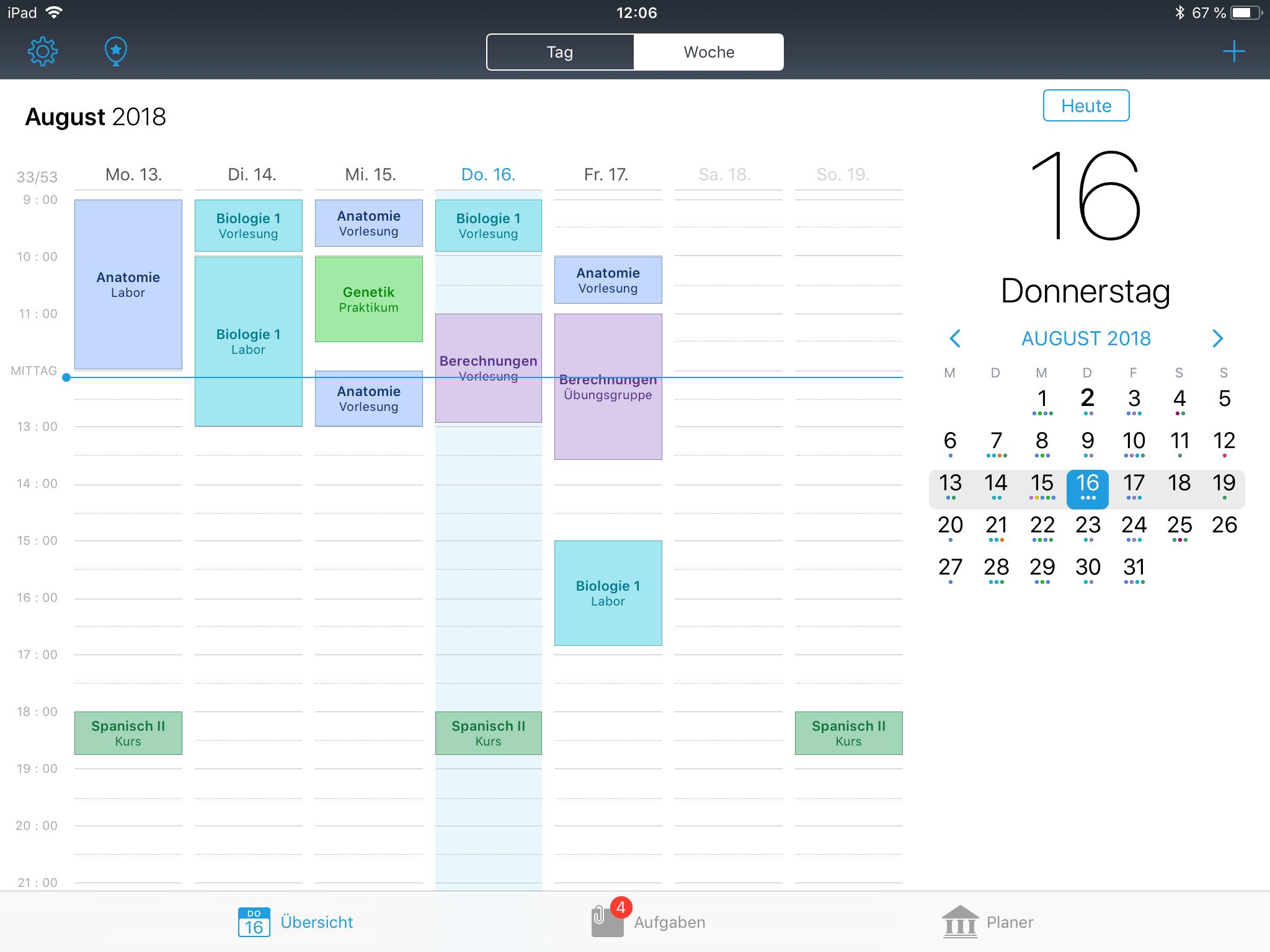 iStudiez Pro iPad Screenshot