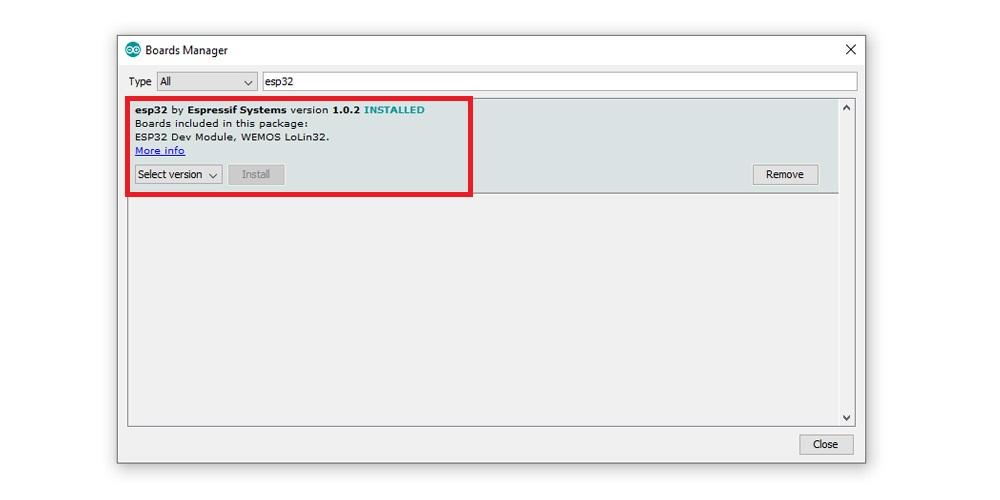 Arduino IDE ESP32 LoRa Setup - Install ESP Board