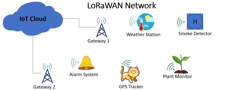 LoRaWAN Network Examples