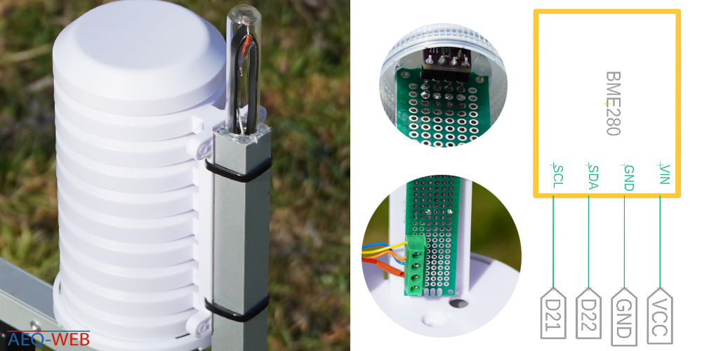 BME280 Sensor Schaltplan