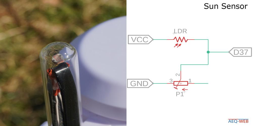 LoRa Wetterstation Sonne Sensor