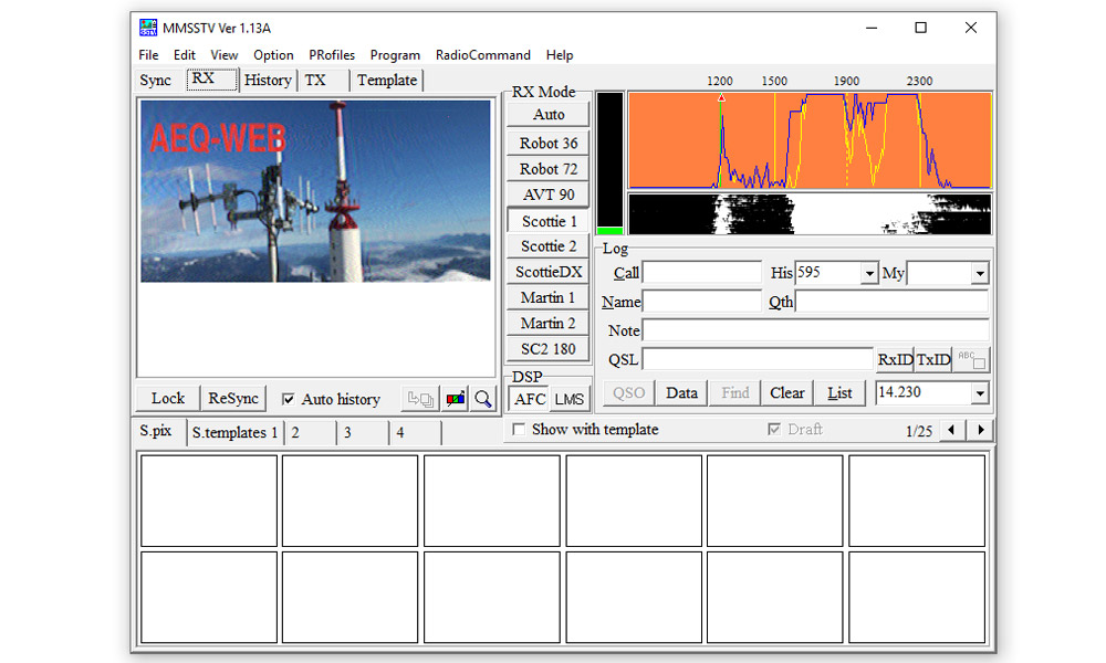 SSTV Encoder Decoder Software Windows