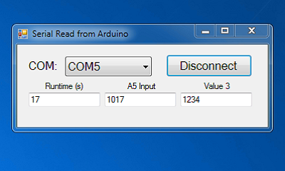 Arduino Serial COM Port Connection with Visual Studio Programm - Windows Software