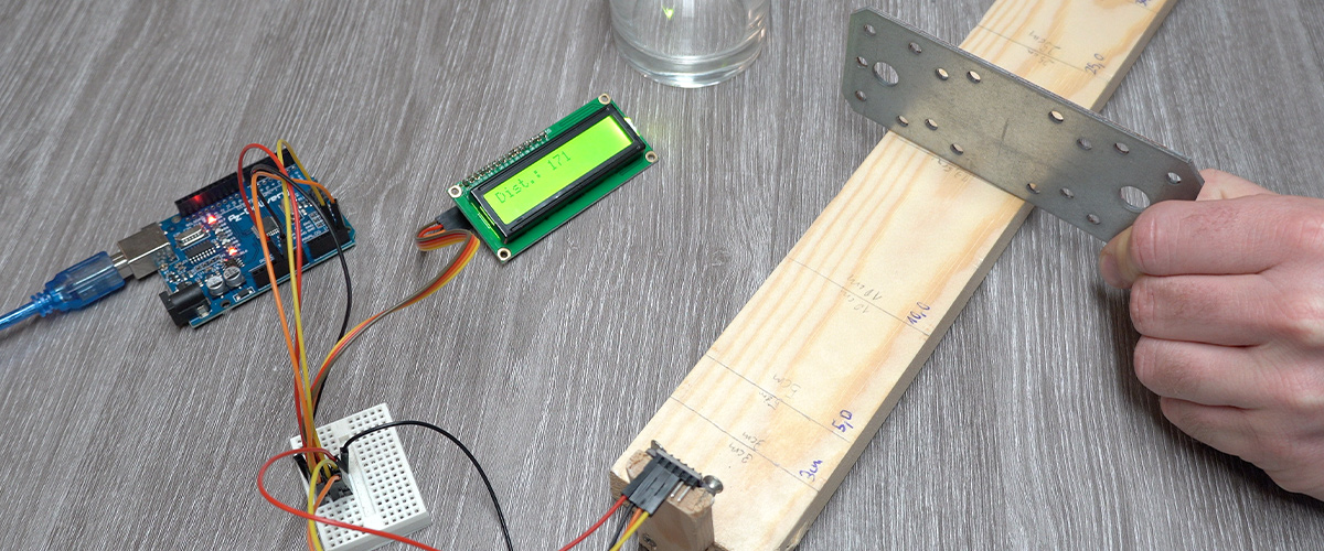 VL53L0X Laser Distance Sensor Test Arduino