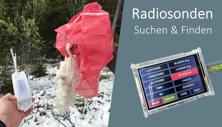 Vaisala Radio Sonden Suchen und Finden