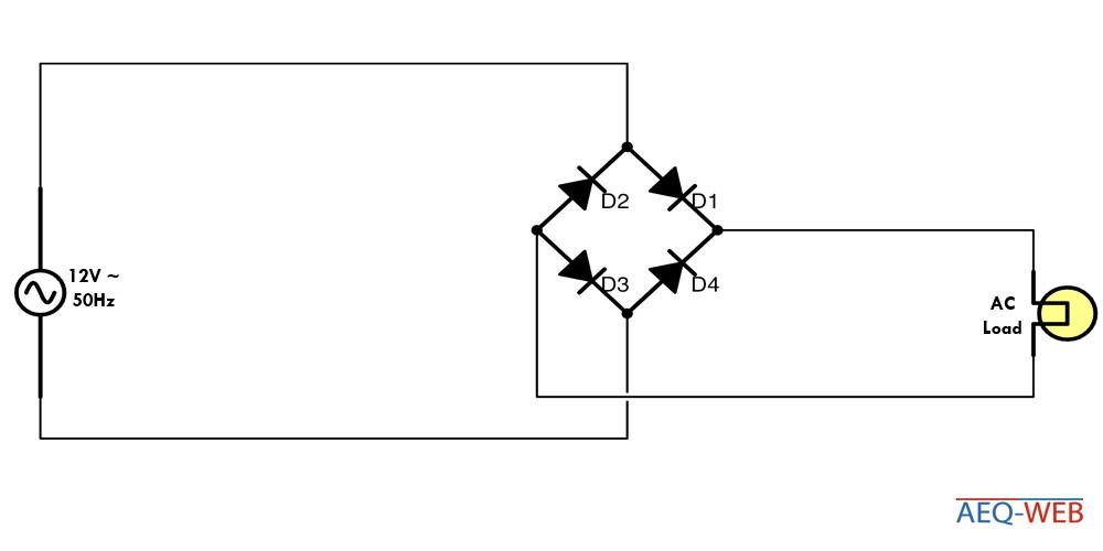 Brückenschaltung B2U Gleichrichter