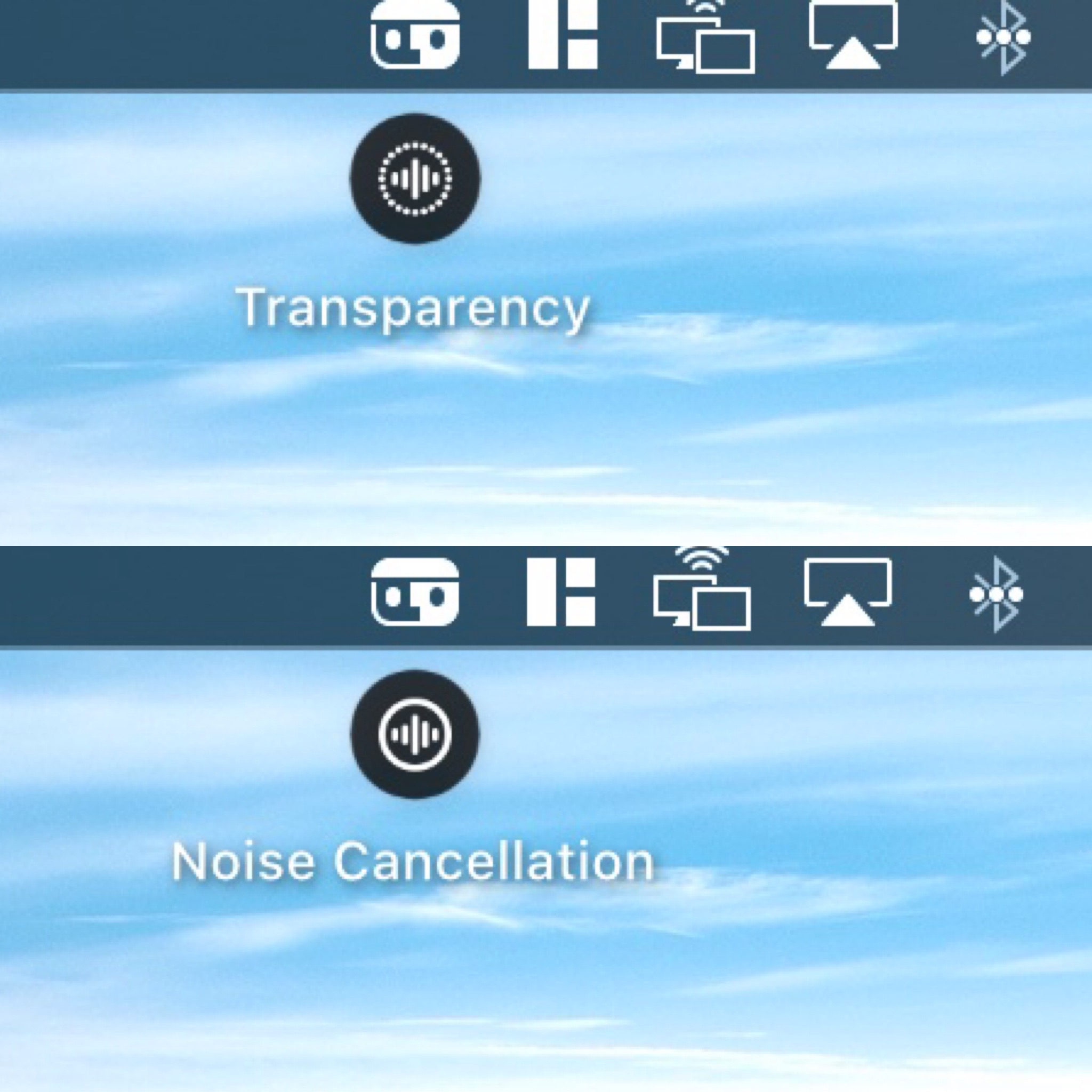 Airbuddy 2 Noise Cancelling und Transparent